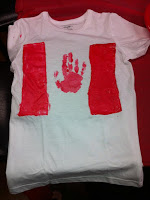 canada day crafts and tshirts for kids