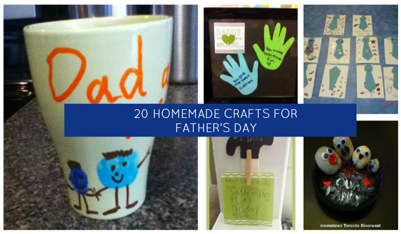 Father Days Homemade Craft Ideas