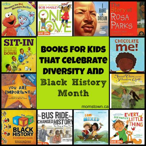Books for Kids that Celebrate Difference, Diversity and Black History Month | momstown National