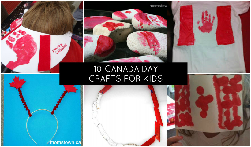 10 canada day crafts for kids momstown national for Oakville high school craft fair