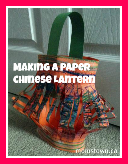 Make a lantern for chinese new year momstown national for Oakville high school craft fair