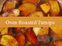 Oven Roasted Turnips With Squash Sweet Potatoes
