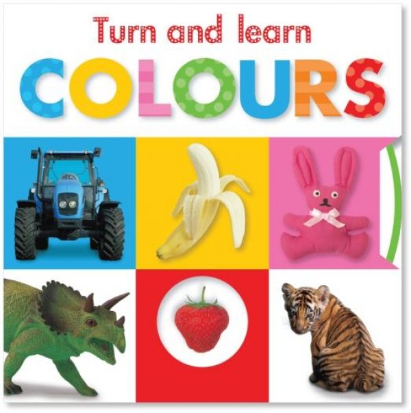 6 Books to help kids learn about colours