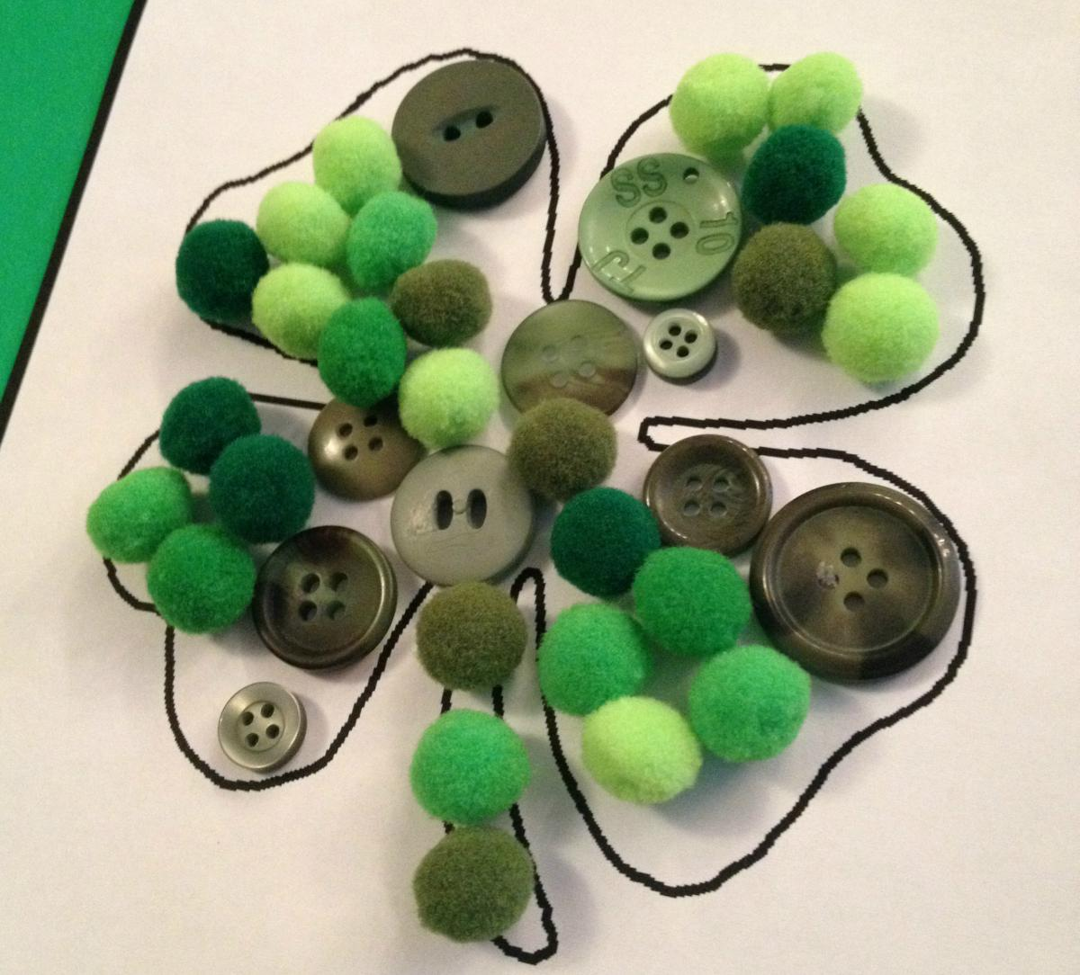 Toddler Shamrock Craft