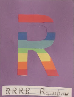 r is for rainbow
