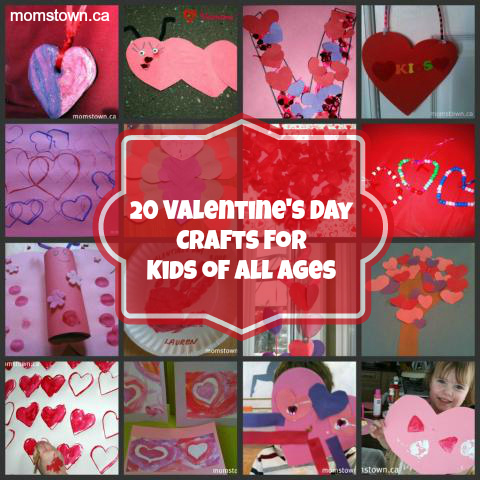 20 valentine s crafts for kids of all ages for Fun crafts for all ages