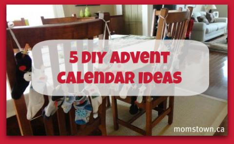 5 DIY Advent Calendar Ideas