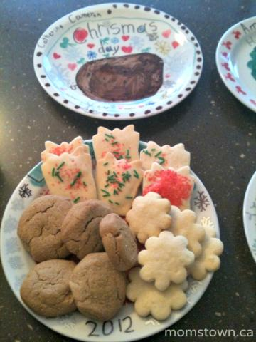 cookie plate for christmas