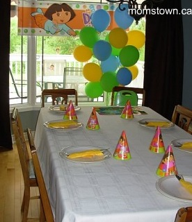 Dora the explorer birthday party for Dora themed bedroom designs