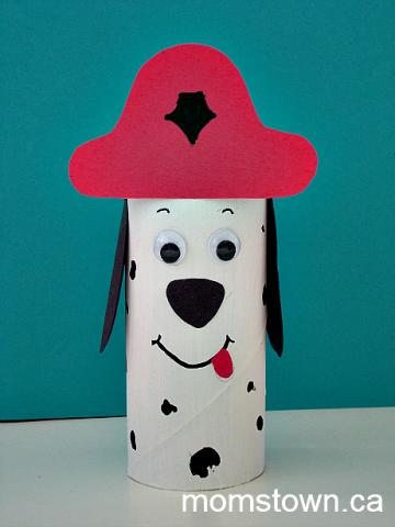 Fire fighter and fire truck birthday ideas for Dog craft ideas