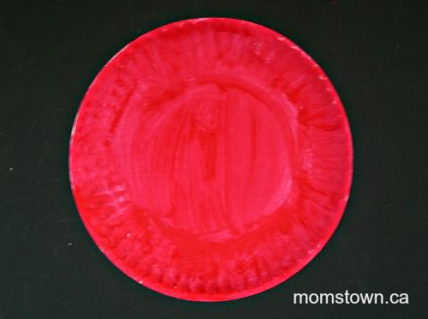 Make A Firefighter Hat From A Paper Plate