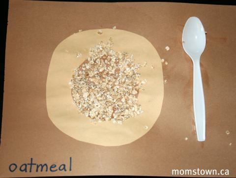 o is for oatmeal
