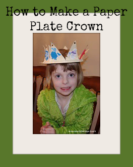 How to Make a Paper Plate Crown