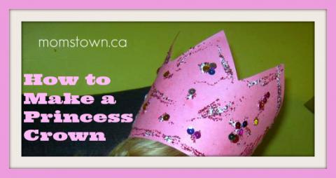 how to make a princess crown