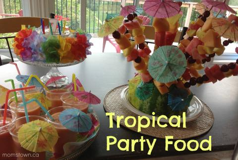 20 Ideas For A Tropical Luau Party
