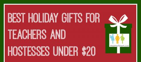 Holiday Gifts for Teachers and Hostesses