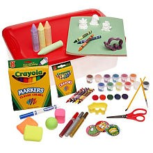 crayola art chest