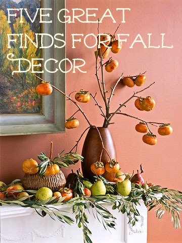 five great finds for fall decor