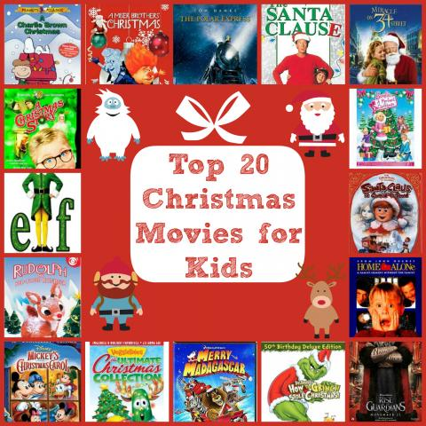 Top 20 Holiday Movies for Kids