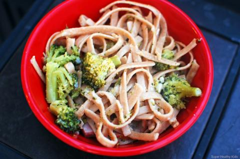 whole wheat noodles, healthy kids meals