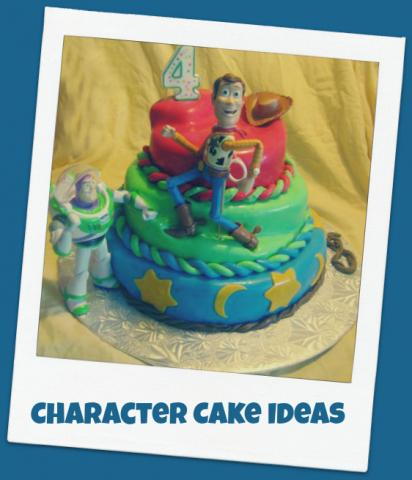 character cake ideas