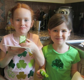 st. patrick's day healthy cupcakes