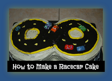 how to make a racecar cake