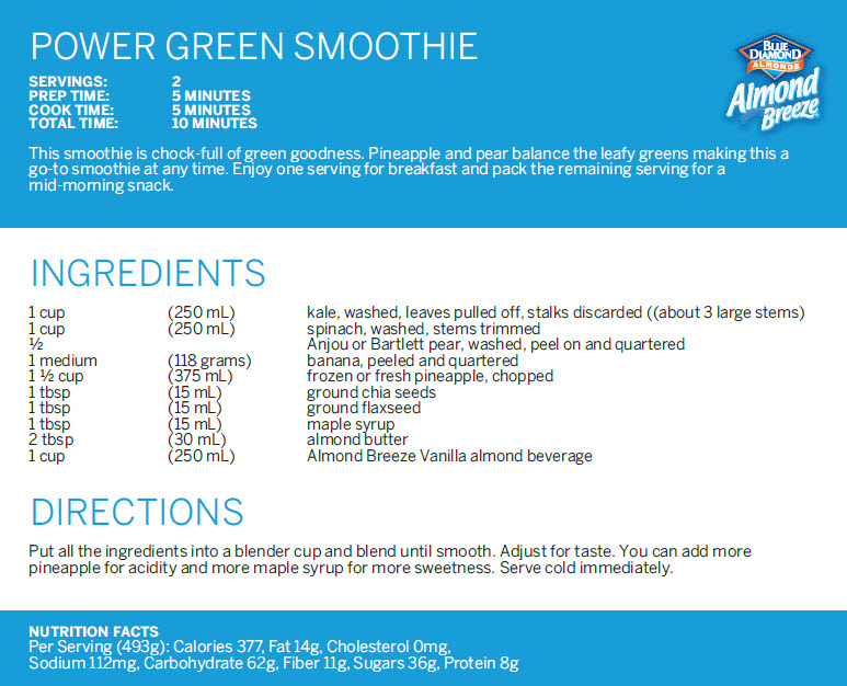AB Smoothie Recipe