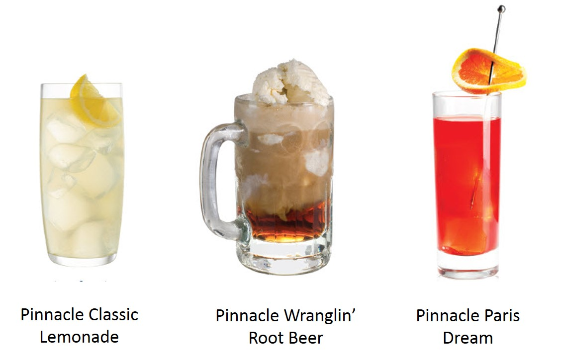 Pinnacle Cocktails